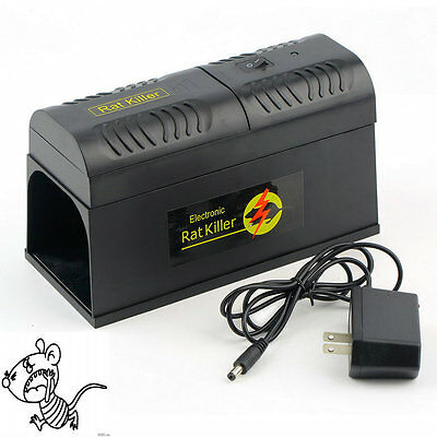 Electronic Mice Rat Killer Rodent Repeller Electric ...