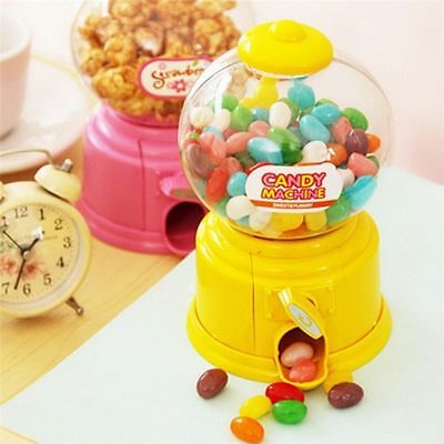 - Gumball Vending Machine Candy Mini Snacks Bubble Gum Dispenser Kids Gift Ideas