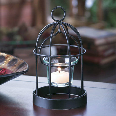 Bird Cage Mini Candle Holder