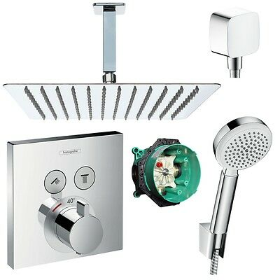 Hansgrohe Hans Grohe Select Thermostat 300mm Kopfbrause Showerselect