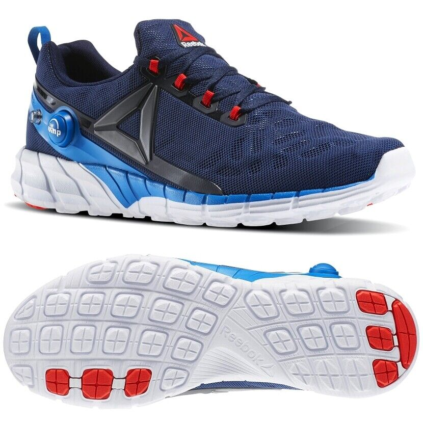 Reebok ZPUMP FUSION 2.5 Herren Laufschuhe Sport Schuhe Hallenschuhe Sneaker blau
