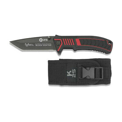 Navaja tactica RUI/K25 Hoja 8,6 cm funda nylon Skinner knives caza pesca 19945-A