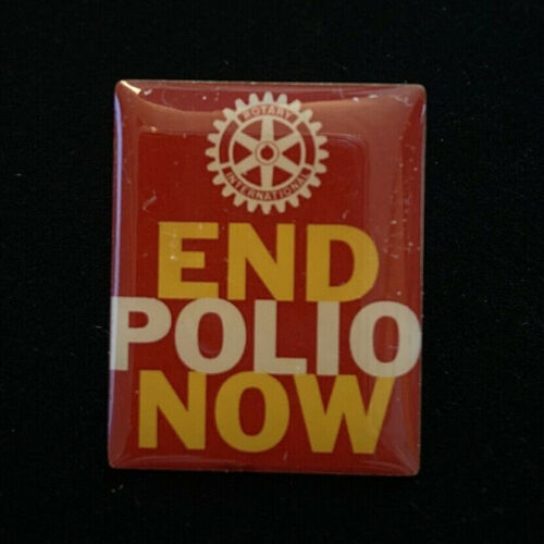 Rotary International Pin END POLIO NOW