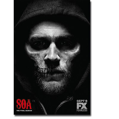 Sons Of Anarchy Tv Series Art Silk Poster Print 12X18 24X36 Inch Teller 002