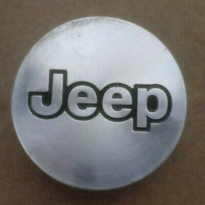 Jeep Cherokee Wrangler Machined 1997 - 2004 OEM 15 Inch Wheel Center Cap 9024
