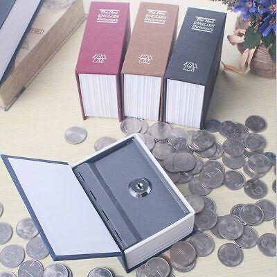 Dictionary Mini Safe Box Security Safe Lock Coin Storage Key Locker For Kid Gift Mini Lockers For Kids