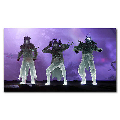 - Destiny Hot Game Silk Cloth Poster 13x24 inches Decor