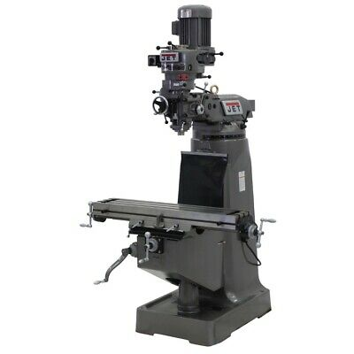 Jet 690082 Jtm-1 Step Pulley Milling Machine 230v 3ph