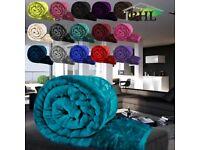 2000+ Luxury Mink Faux Fur Throws Bedroom Living Room Joblot/Wholesale!