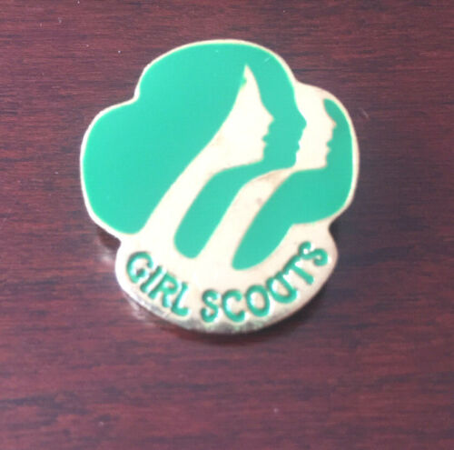 Girl Scouts Pin - 1980 - 3 Faces Vintage Pin GS USA