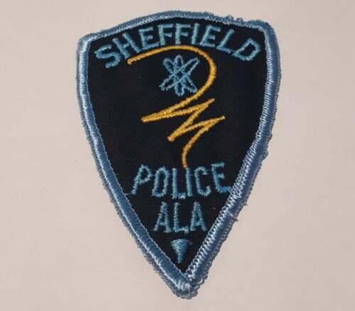 Sheffield Alabama AL US Police Patch Vintage