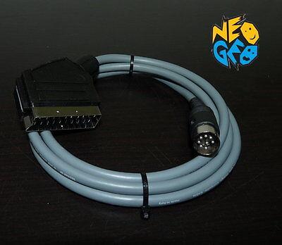 Cable peritel RGB pour Neo Geo AES CD blindé shielded 21P scart...