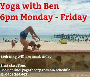 Yoga Theory Unley Unley Area Preview