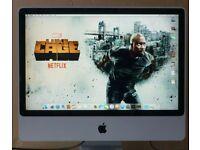 iMac 2008 4GB ram - very nice 24'' LCD panel £120