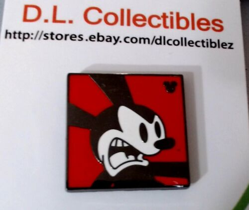 Disney Oswald the Lucky Rabbit Hidden Mickey Red Yelling Oswald Pin