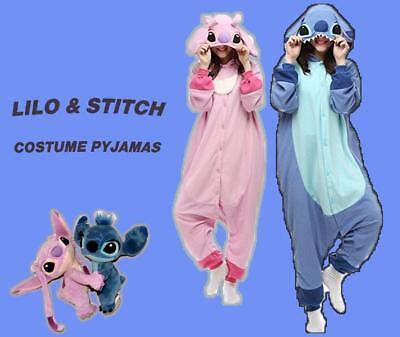 Unisex Adult Costume Animal Kigurumi Pajamas Stitch Onesie88s Cosplay - Stitch Costume