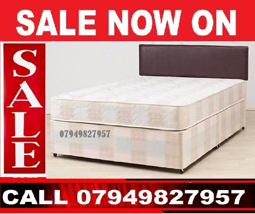 KATDouble Dlvan Base available, Beddingin East London, LondonGumtree - Yes, its Single bed size 3 feet for 69Its Double 4 Feet 6 Inch,, for only 89Kingsize bed size 5 feet for 109