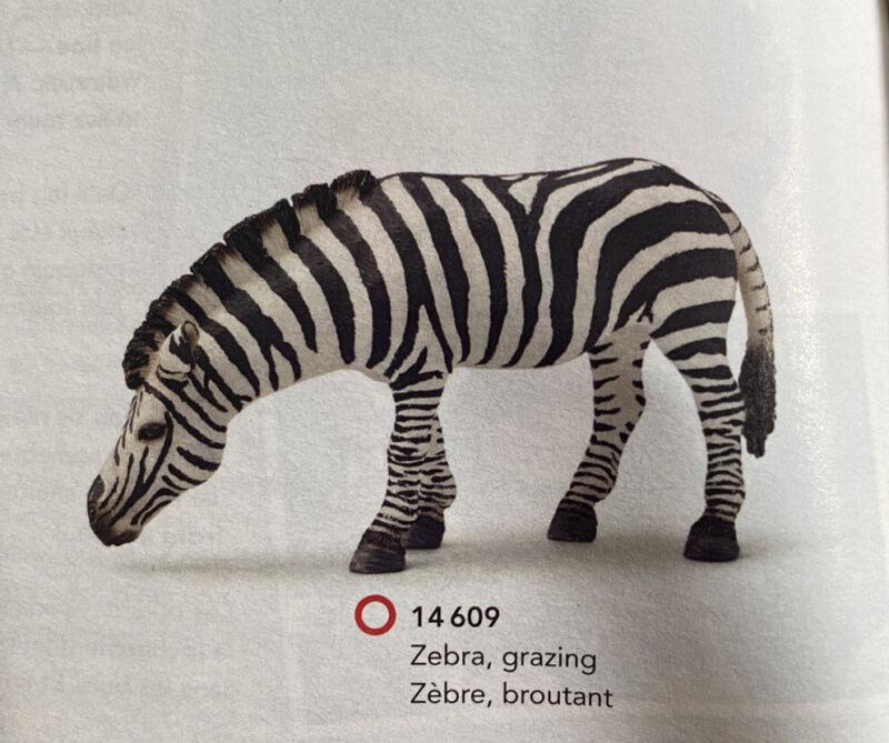 Schleich Zebra, Grazing  14609