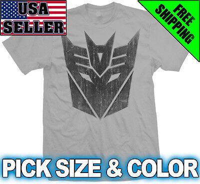 Decepticon Transformers T Shirt Megatron Megan Fox Prime Optimus Autobot Movie