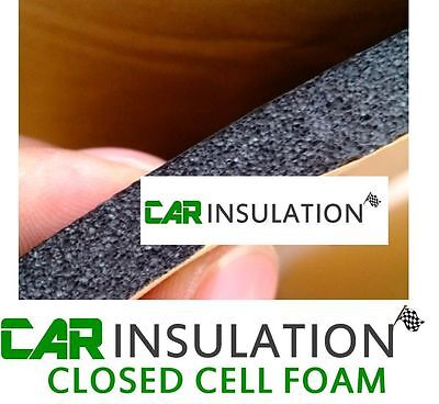 Car Parts - 8 Sheets Car Sound Proofing Deadening Vehicle Insulation Closed Cell Foam 10mm