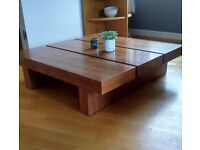 Dwell Coffee Table In Solid Walnut RRP £580 Mid Century Made com Modern Rare Maisons du Monde