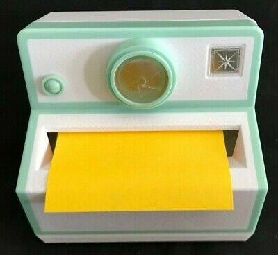Post It Note Vintage Polaroid Camera Pop Up Sticky Note Deck Paper Holder
