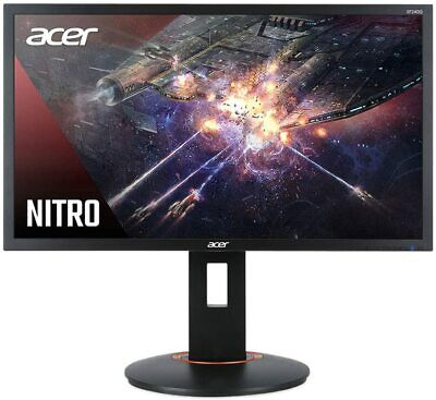 "NEW Acer Nitro XFA240Q Sbiipr 23.6"" FHD Gaming Monitor 144Hz 1ms FreeSync HDMI"