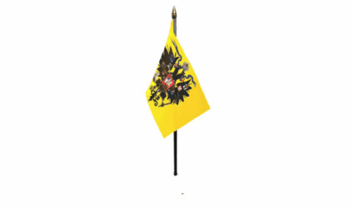 """Russian Imperial  6"""" x 4"""" Hand Waving Flag"""