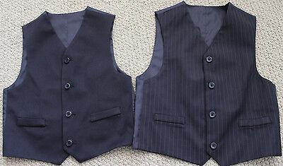 Pinstripe Reversible Vest Suit 5 5T 7 Wedding 1st Communion Photos NWT  (1st Communion Suits)