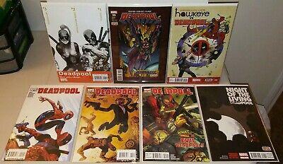 Deadpool Comic Lot Of 8 NM 1st App Lady - Lady Deadpool Comics