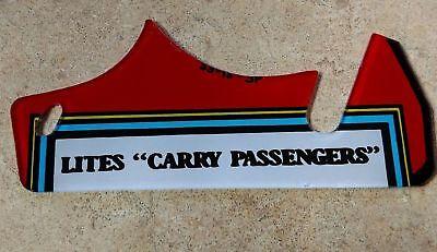 Williams TAXI Pinball Machine Carry Passengers Plastic