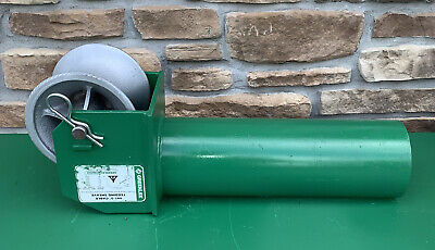Greenlee 441-5 5 Cable Feeding Sheave For Tugger Puller Feeder Awesome 3