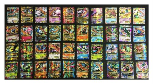 Pokemon Card Lot 100 Cards - Guaranteed Ultra Rare - Mega Ex/gx V Vmax + Holo