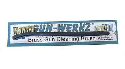 Brass Bristle Gun Cleaning Brush-Double Ended G.I.-Style Brush-by Gun-Werkz