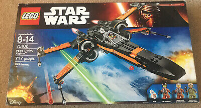 LEGO - Star Wars : POE'S X- WING FIGHTER Retired set 75102 717 Pcs