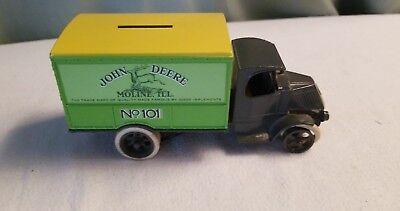 Vintage John Deere by Ertl No. 101 Coin Bank Mack Truck 1926 Bull Dog