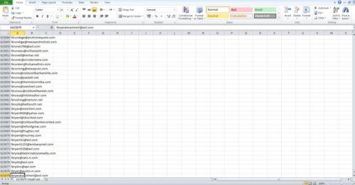 Marketing Email Adress List 623000  ForMarketing & Business