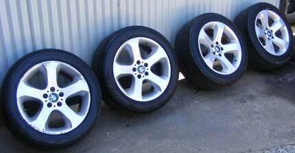 """19 """" BMW X5 Commodore STAGGERED 10 """" &  9 """" RIMS"""