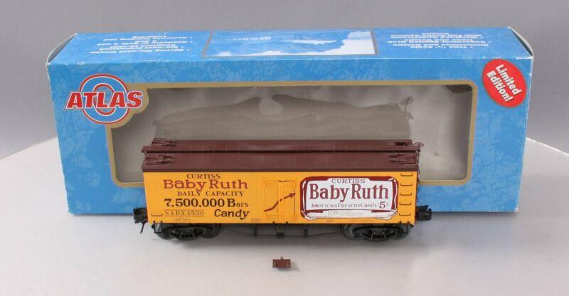 Atlas 8014-1 Baby Ruth Refrigerator Car #4530 [3Rail]/Box