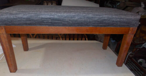 Quartersawn Oak End of Bed Bench / Entry Bench