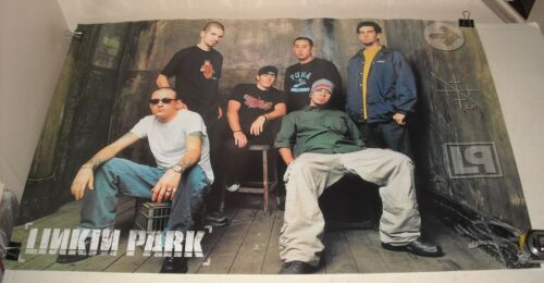 ROLLED 2002 FUNKY POSTERS # 6559 LINKIN PARK BAND GROUP PINUP POSTER 22.5 x 34