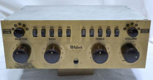 MCINTOSH C-108 12AX7 TRIODE VACUUM TUBE PHONO TONE LINE EQ PREAMP PREAMPLIFIER