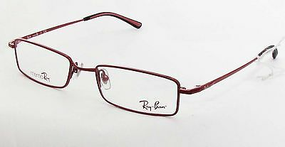 Spectacles Frame Ray Ban 0RX7505 1043 49/18 Rosso Series Memoray Discount (Discount Ray Ban Frames)