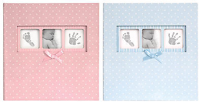 Baby Girl Photo Album Polka Dot Pink Photo Album Holds 200 Photos with Memo Area