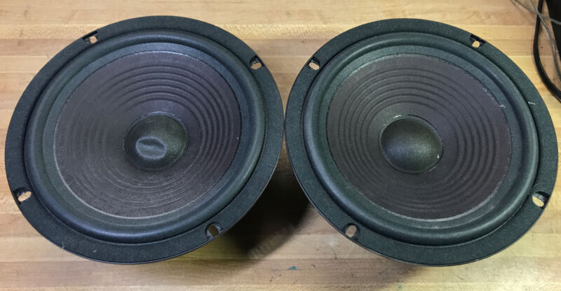 "pair JBL PN 72412 8"" Woofer from P30 Speakers Mo. 208H Made in USA- Tested"