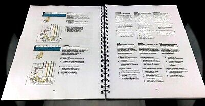 Elna 745 Owners Manual User Guide Instructions COLOR Print - Lays Flat Free Ship