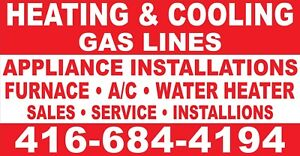Heating/cooling/gas lines and much more