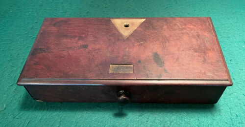 Antique Apothecary Scale Balance Scale Cabinet Base repurpose as Jewelry Box
