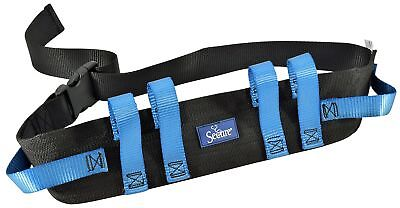 - Secure Transfer and Walking Gait Belt with 6 Caregiver Hand Grips - Patient