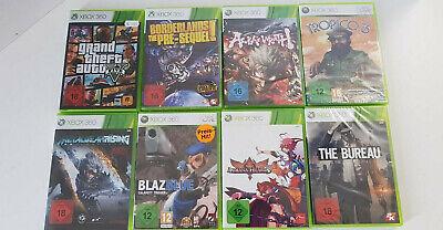 8 Xbox 360 Spiele bis USK 18 - Sammlung - Paket